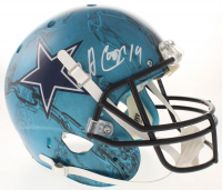 Amari Cooper Signed Dallas Cowboys Full-Size Authentic On-Field Hydro Dipped Helmet (Beckett COA)
