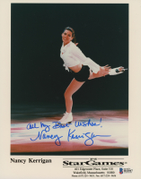 "Nancy Kerrigan Signed 8x10 Photo Inscribed ""All My Best Wishes!"" (Beckett COA)"
