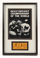 Muhammad Ali 13x19 Custom Framed Display at PristineAuction.com