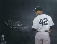 """Mariano Rivera Signed New York Yankees 16x20 Limited Edition Photo Inscribed """"HOF 2019"""" & """"1st Unanimous Vote"""" (Steiner COA)"""