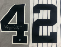 """Mariano Rivera Signed New York Yankees Split Jersey Inscribed """"HOF 2019"""" (Steiner COA) at PristineAuction.com"""