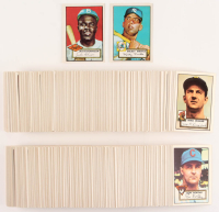 1952 Topps Reprint Complete Set of (554) Baseball Cards with #311B Mickey Mantle DP, #312B Jackie Robinson DP