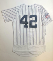 "Mariano Rivera Signed New York Yankees Jersey Inscribed ""HOF 2019"" & ""1st Unanimous Vote"" (Steiner COA) at PristineAuction.com"