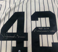 """Mariano Rivera Signed New York Yankees Jersey Inscribed """"HOF 2019"""" & """"1st Unanimous Vote"""" (Steiner COA) at PristineAuction.com"""