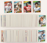 1984 Topps Complete Set of (396) Football Cards with #123 Dan Marino PB RC, #280 Erik Dickerson RC, #63 John Elway RC, #353 Roger Craig RC