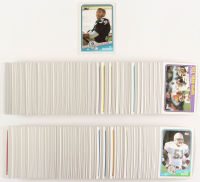 1988 Topps Complete Set of (396) Football Cards with #327 Bo Jackson SR RC