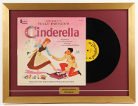 "Walt Disney's ""Cinderella"" 18x24 Custom Framed Vinyl Record Album Display"