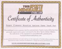 Roger Clemens Houston Astros Game-Used Louisville Slugger Player Model M356 Baseball Bat (YSMS COA) at PristineAuction.com