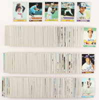 1979 Topps Complete Set of (727) Football Cards with #115 Nolan Ryan, #330 George Brett, #650 Pete Rose, #24 Paul Molitor, #640 Eddie Murray
