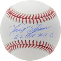 "Miguel Cabrera Signed OML Baseball Inscribed ""AL MVP 2012-13"" (Fanatics Hologram) at PristineAuction.com"