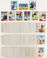 1981 Topps Complete Set of (726) Baseball Cards with #254 Ozzie Smith, #240 Nolan Ryan, #180 Pete Rose, #302 Jack Perconte RC / Mike Scioscia RC / Fernando Valenzuela RC, #315 Kirk Gibson RC, #347 Harold Baines RC, #261 Rickey Henderson, #110 Carl Yastrze
