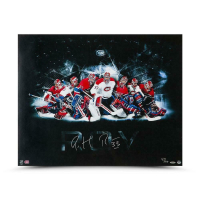 Patrick Roy Signed Montreal Canadiens 24x30 Photo (UDA COA) at PristineAuction.com