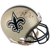 Drew Brees Signed Saints Full-Size Authentic On-Field Helmet (Fanatics Hologram) at PristineAuction.com