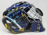 "Jordan Binnington Signed St. Louis Blues Limited Edition Full Size Goalie Mask Inscribed ""2019 SC Champs"" & ""16 Wins"" (Fanatics Hologram)"