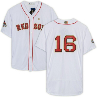 """Andrew Benintendi Signed Boston Red Sox Jersey Inscribed """"18 WS Champs"""" (Fanatics Hologram & MLB Hologram) at PristineAuction.com"""