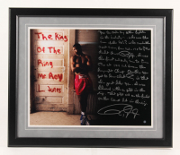 Roy Jones Jr. Signed 22x26 Custom Framed Photo Display with Extensive Story Inscription (Steiner COA) at PristineAuction.com