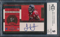 2011 Playoff Contenders #221A Julio Jones AU RC (BCCG 9) at PristineAuction.com