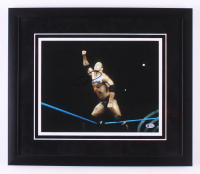 "Dwayne ""The Rock"" Johnson Signed WWE 18x21 Custom Framed Photo Display (Beckett COA)"