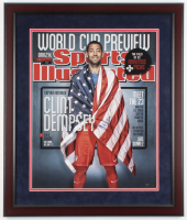 Clint Dempsey Signed Team USA 22x26 Custom Framed Photo (Steiner COA) at PristineAuction.com