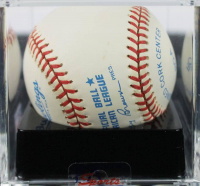 Mickey Mantle Signed OAL Baseball (PSA Encapsulated) at PristineAuction.com