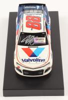 Alex Bowman Signed NASCAR #88 Valvoline 2019 Camaro - 1:24 Premium Action Diecast Car (Hendrick Hologram & COA)