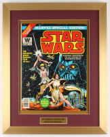 "Vintage 1977 ""Star Wars"" Issue #1 Marvel 16x20 Custom Framed Comic Book Display"
