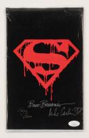 "Brett Breeding, Mike Carlin & Roger Stern Signed 1992 ""The Death of Superman"" Memorial Issue #75 DC Comic Book (JSA COA)"