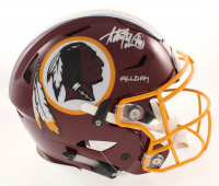 "Adrian Peterson Signed Washington Redskins Full-Size Authentic On-Field SpeedFlex Helmet Inscribed ""All Day"" (Beckett COA) at PristineAuction.com"