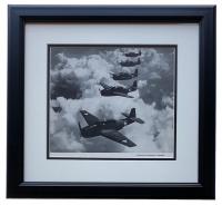 """Echelon Of Grumman"" 16x17 Custom Framed Photo Display"