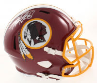 Adrian Peterson Signed Washington Redskins Full-Size Speed Helmet (Beckett COA)