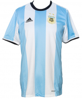 "Lionel Messi Signed Argentina Adidas Jersey Inscribed ""Leo"" (Beckett LOA & Icons COA) at PristineAuction.com"