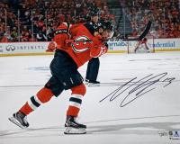 Nico Hischier Signed New Jersey Devils 16x20 Photo (Fanatics Hologram)