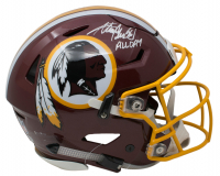 "Adrian Peterson Signed Washington Redskins Full-Size Authentic On-Field SpeedFlex Helmet Inscribed ""All Day"" (Beckett COA)"