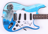 "Dave Grohl & Krist Novoselic Signed ""Nirvana"" Fender 39"" Electric Guitar (PSA Hologram)"