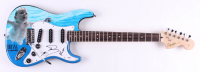 """Dave Grohl & Krist Novoselic Signed """"Nirvana"""" Fender 39"""" Electric Guitar (PSA Hologram) at PristineAuction.com"""