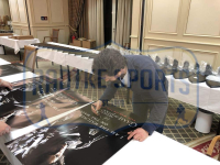 """Kit Harington Signed """"Game of Thrones"""" 24x36 Watcher on the Wall Poster (Radtke COA) at PristineAuction.com"""