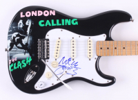 "Mick Jones Signed ""The Clash"" Fender 39"" Electric Guitar (JSA Hologram) at PristineAuction.com"