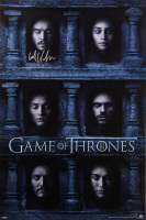 "Kit Harington Signed ""Game of Thrones"" 24x36 Hall of Faces Poster (Radtke COA) at PristineAuction.com"