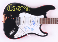 "Robby Krieger & John Densmore Signed ""The Doors"" Fender 39"" Electric Guitar (JSA Hologram) at PristineAuction.com"