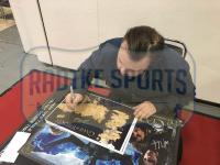 "John Bradley Signed ""Game of Thrones"" 11x17 Westeros Map Photo Inscribed ""Sam"" (Radtke COA) at PristineAuction.com"