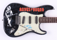 "Angus Young Signed ""ACDC"" Fender 39"" Electric Guitar (JSA Hologram) at PristineAuction.com"