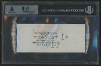Judy Garland Signed 1951 Personal Bank Check (BGS Encapsulated) at PristineAuction.com
