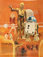 Vintage 1977 Coca Cola Star Wars 18x24 Poster