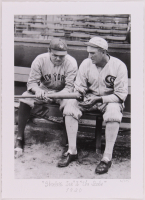 "Historical Photo Archive - Babe Ruth & Joe Jackson ""Shoeless Joe"" & The Babe"" Limited Edition 10.5x14.5 Fine Art Giclee on Paper #/375 (PA LOA) at PristineAuction.com"