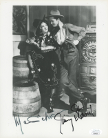 "Marlene Dietrich & James Stewart Signed ""Destry Rides Again"" 8x10 Photo (JSA COA)"