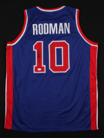 "Dennis Rodman Signed ""The Worm"" Jersey (JSA COA) at PristineAuction.com"