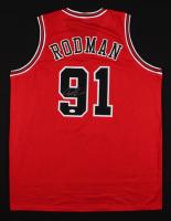 "Dennis Rodman Signed Chicago Bulls ""The Worm"" Jersey (JSA COA) at PristineAuction.com"