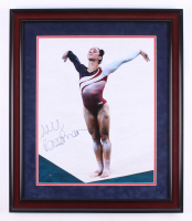 Aly Raisman Signed Team USA 23.5x27.5 Custom Framed Photo Display (Steiner COA)