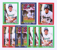Lot of (10) Mike Trout 2010 Cedar Rapids Kernels Rising Alumni Team Issue Baseball Cards with (3) #1, (3) #2 & (4) #3 at PristineAuction.com