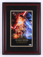 "Daisy Ridley Signed ""Star Wars: The Force Awakens"" 17x23 Custom Framed Photo Display (PSA COA & Steiner COA) at PristineAuction.com"